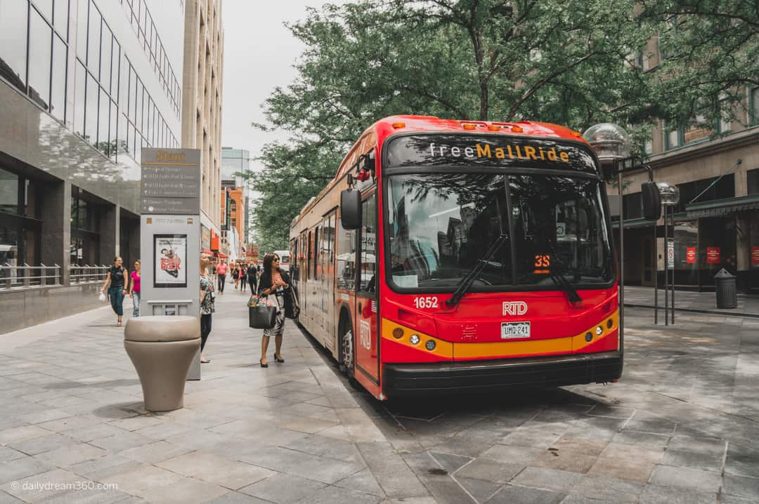 Free mall ride bus A Guide to the Best Neighbourhoods in Denver