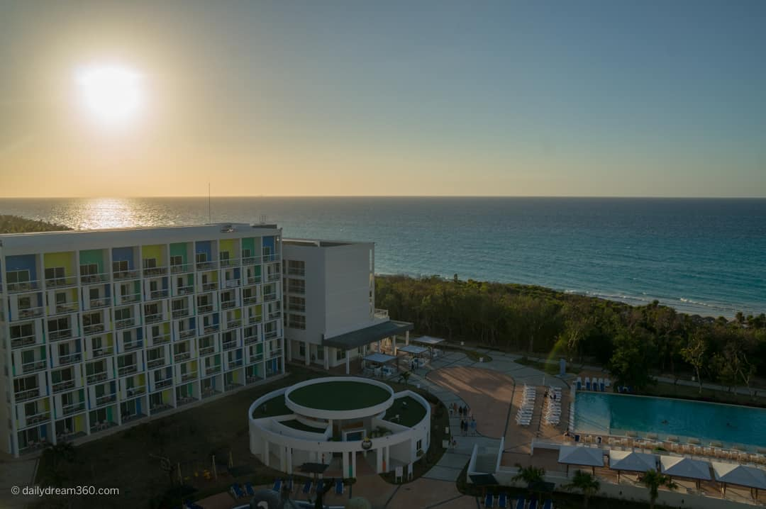 Catch the sunset from rooftop patio at Iberostar Bella Vista Varadero Cuba