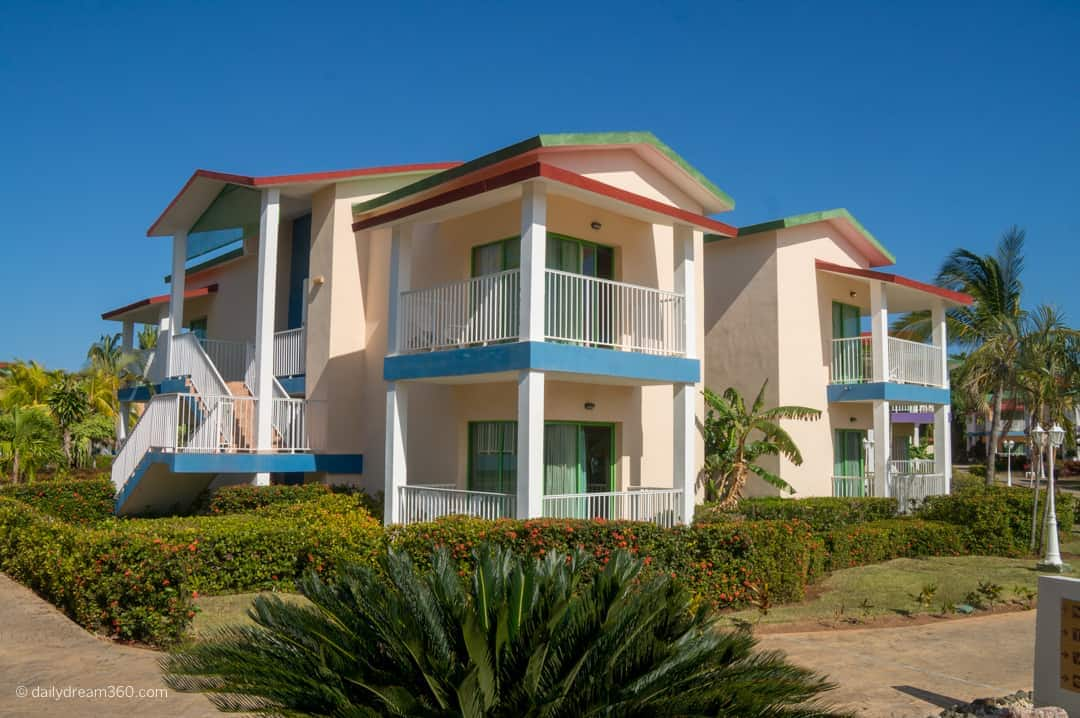 Room bungalow buildings at Family friendly fun at Iberostar Tainos, Varadero