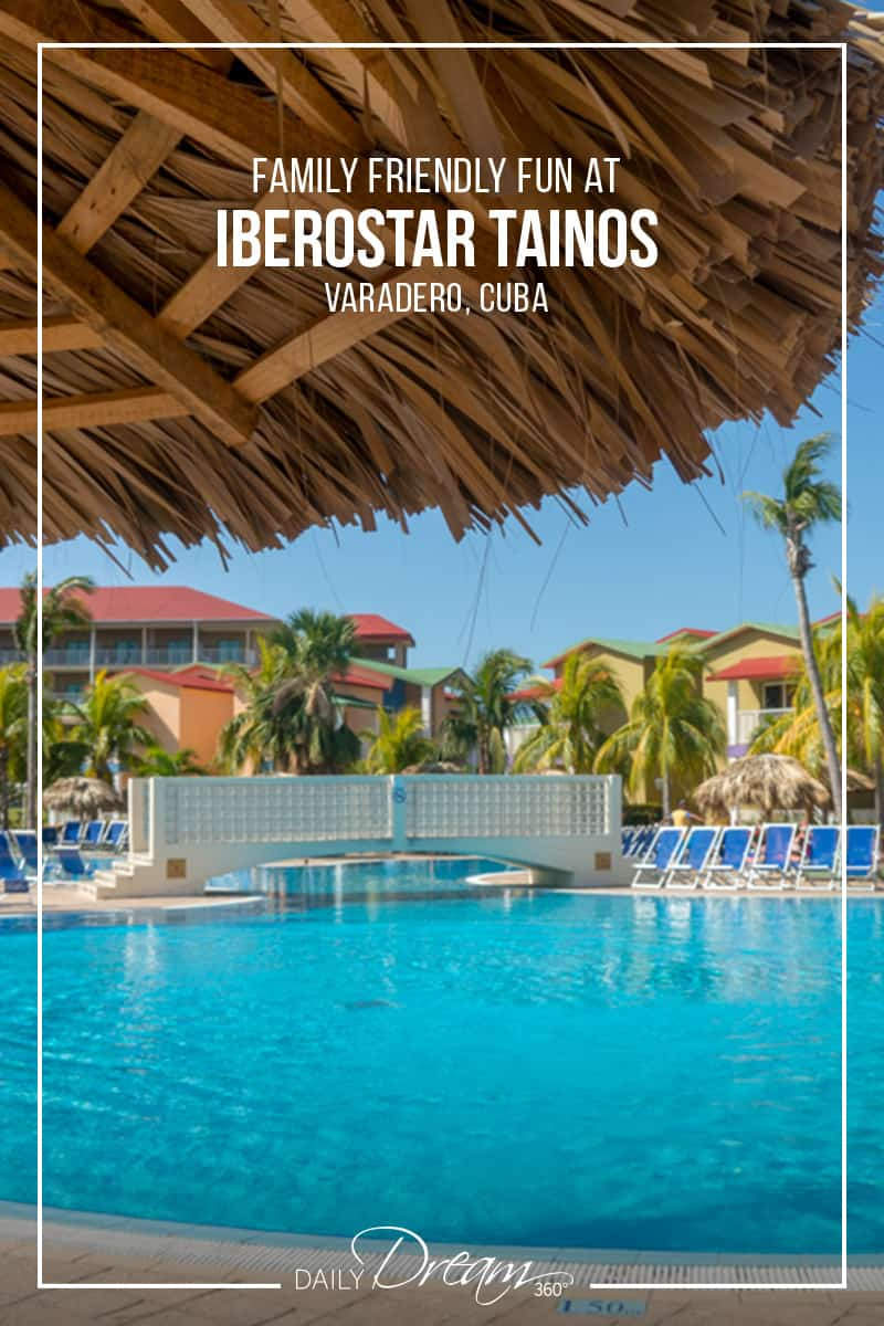 Large main pool area at Iberostar Tainos, Varadero