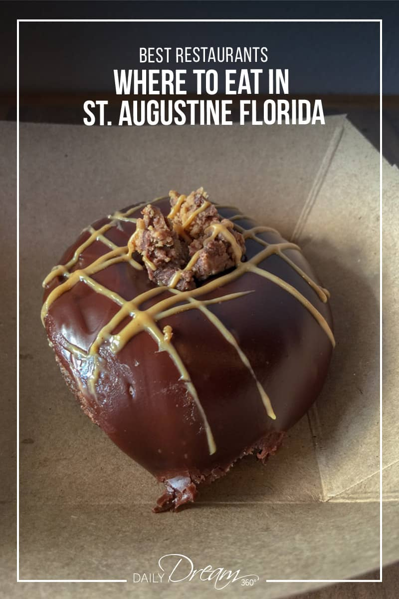 Grab a donut at Swillerbees in St. Augustine one of your choices for where to eat in St. Augustine Florida.