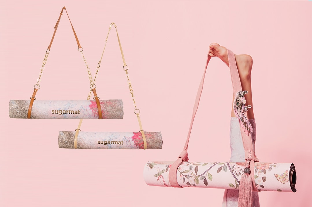 Yoga carrying straps by Sugarmat