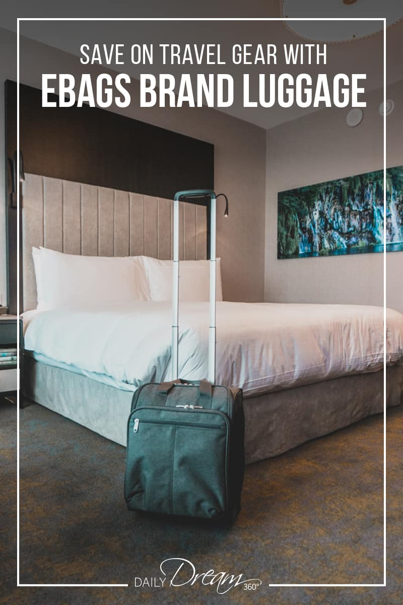 eBags branded luggage offers some great options for travel gear with some additional features you may not see on other brands. | #luggage #ebags #tote #packingcube |