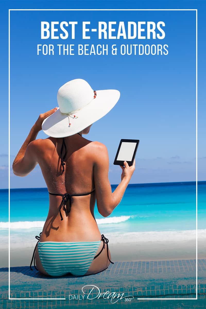 We look at the best e-readers on the market for the beach and outdoor ebook readers. A look at the different models, their features and types of files they can process. | #ebooks #e-reader #beach #travelgear #kobo #kindle |