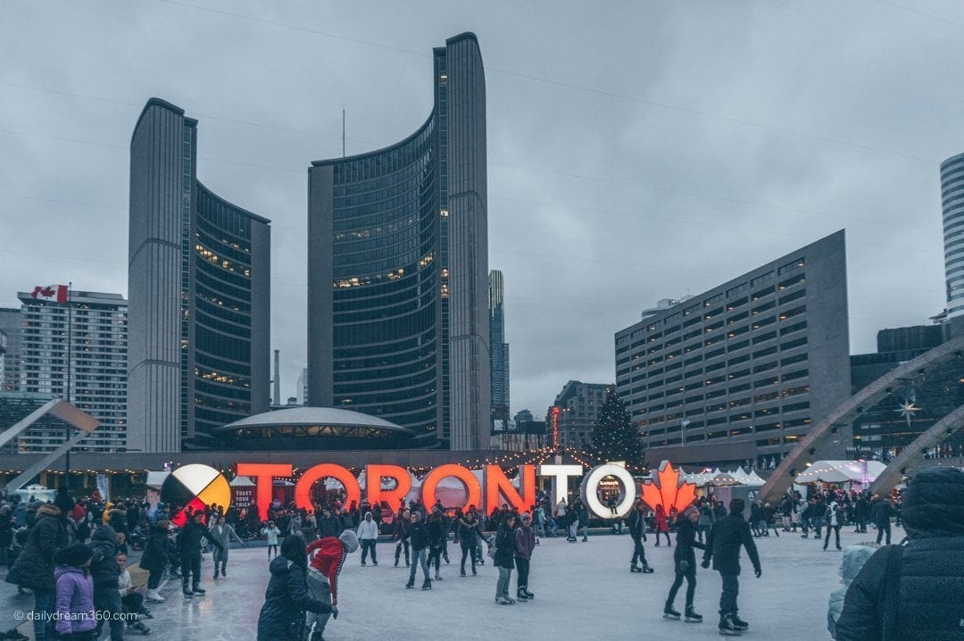 Toronto Holiday Fair at Nathan Phillips Square