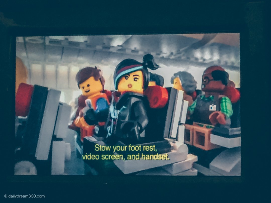 Lego Movie Turkish Airlines Safety Video