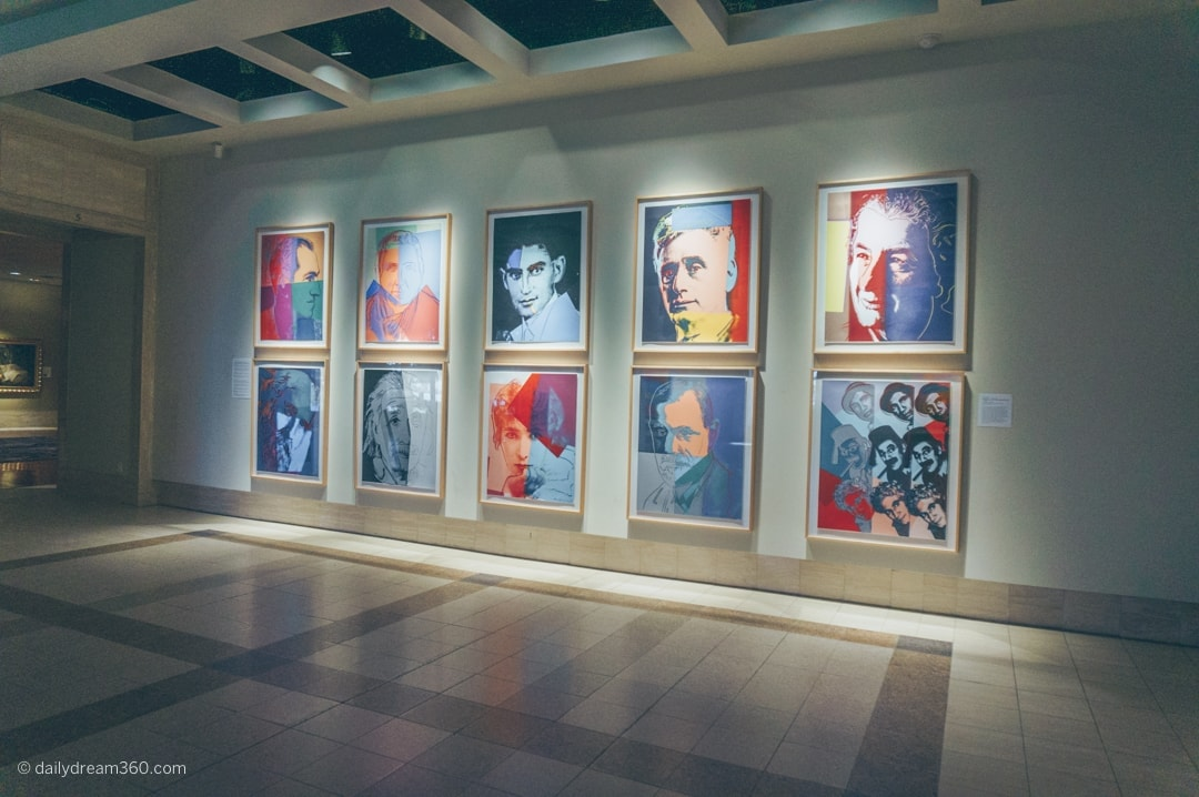 Warhol art exhibit at the Cummer Museum Jacksonville Florida