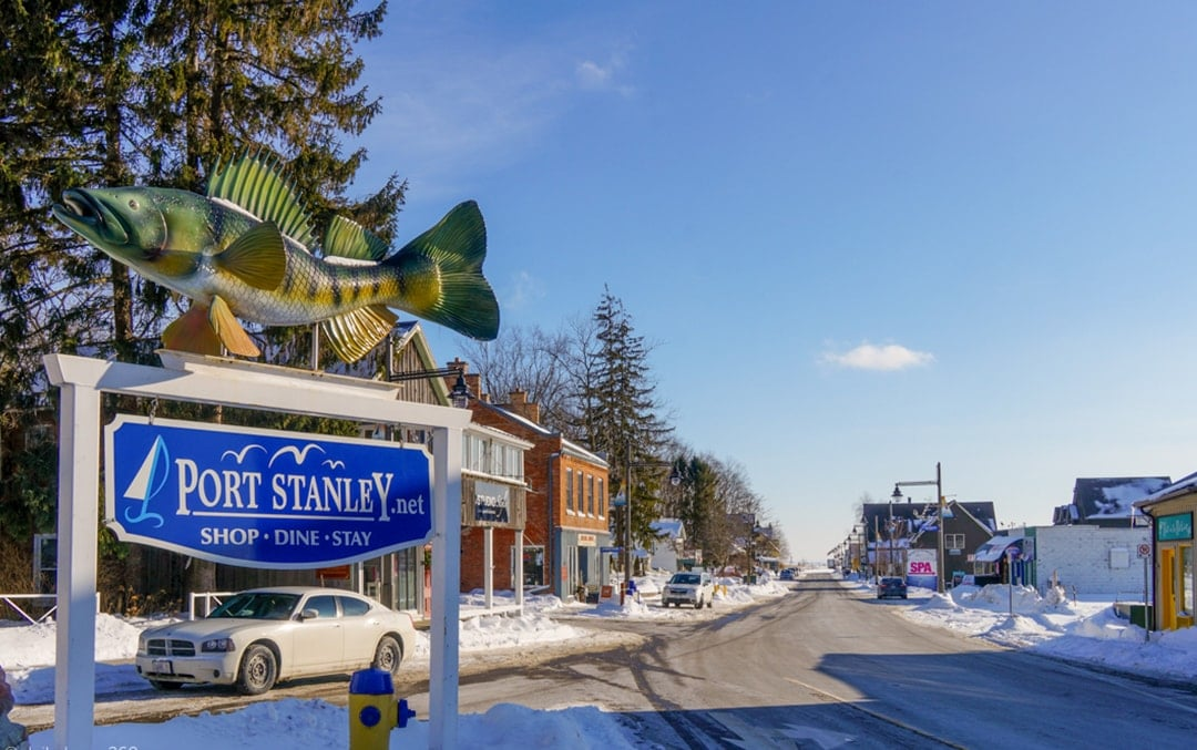 Things to do during Winter in Port Stanley Ontario
