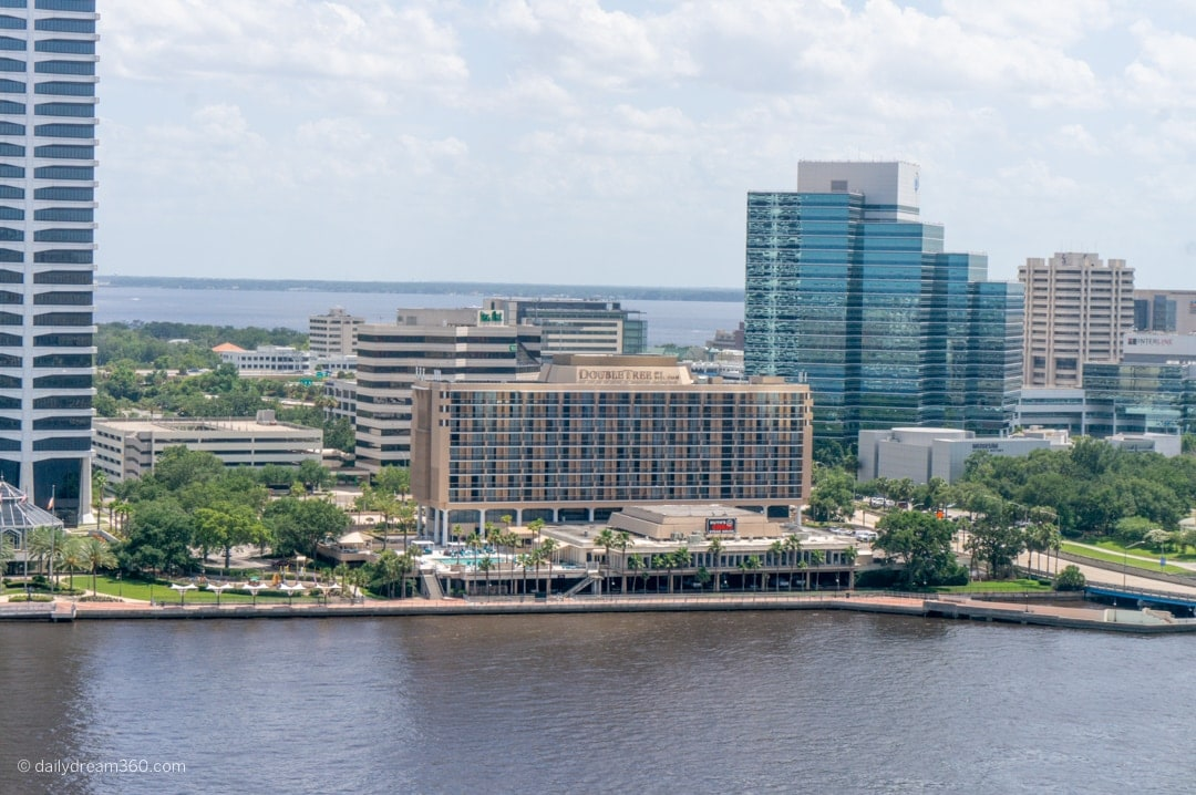 Downtown Jacksonville waterfront