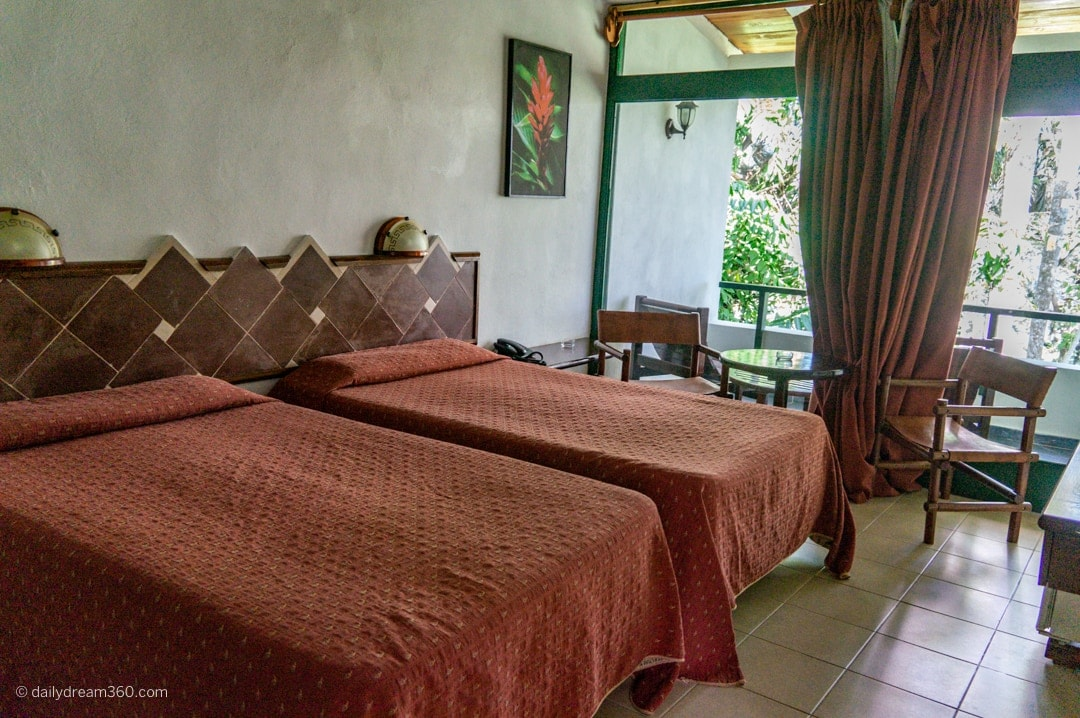 Double room at Hotel Moka in Las Terrazas Eco Village Cuba