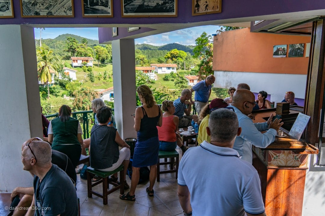 Cafe Maria in Las Terrazas Eco Village Cuba Community