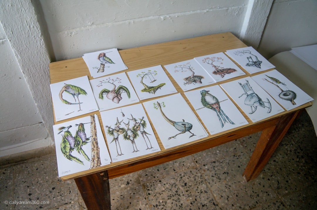 Vist to local artist gallery in Las Terrazas Eco Village Cuba
