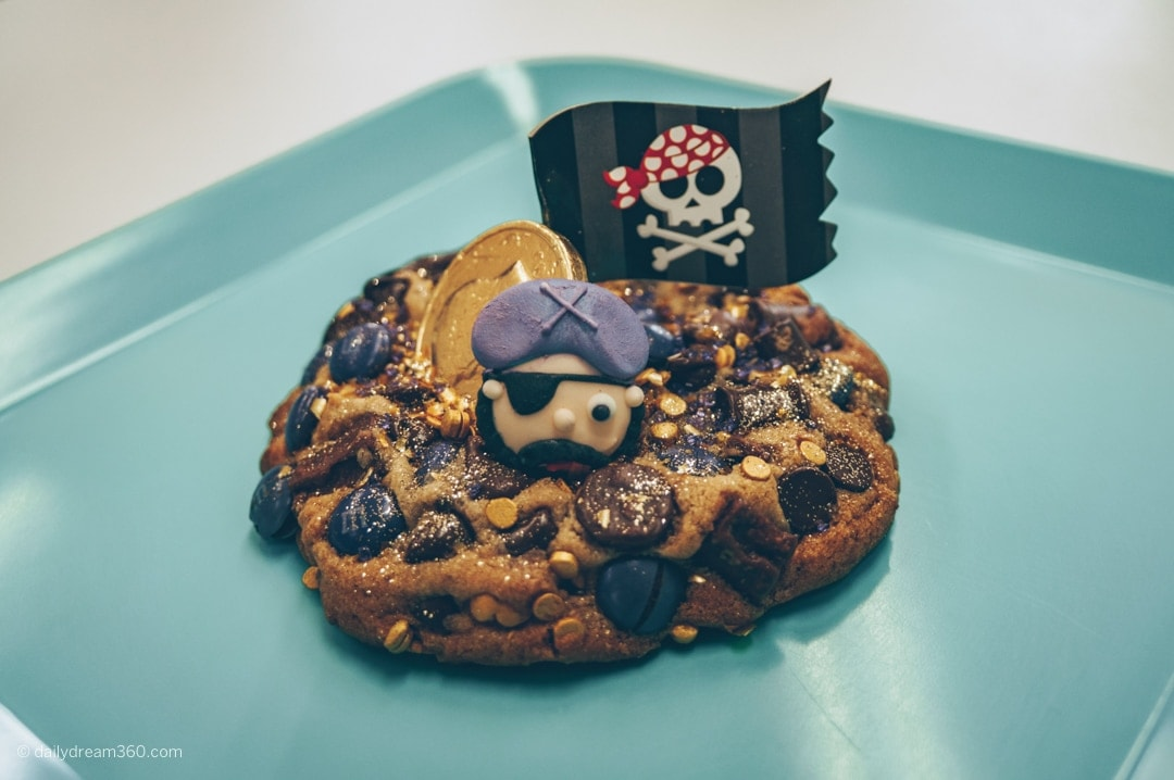 Pirate cookie at Nana Teresa's Bake Shop