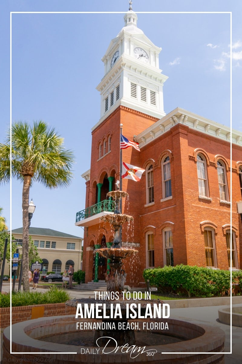 Historic downtown Fernandina Beach on Amelia Island