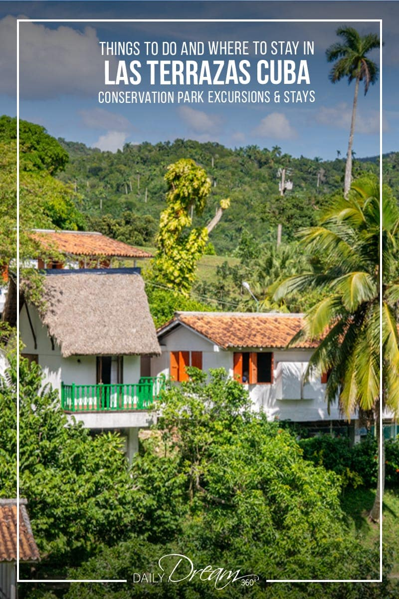 Popular off the resort excursion and place to stay in Cuba is Las Terrazas Eco-village.