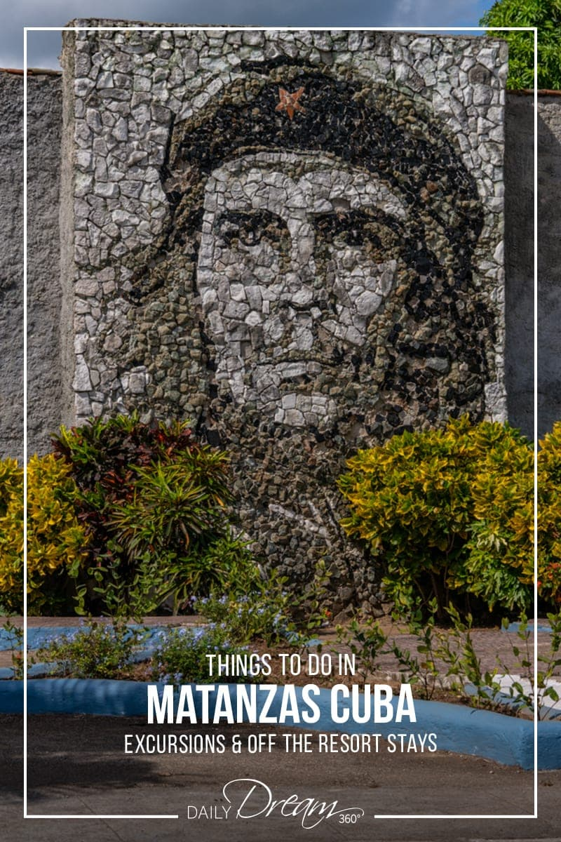 Che Guevara monument in capital city Matanzas Cuba.
