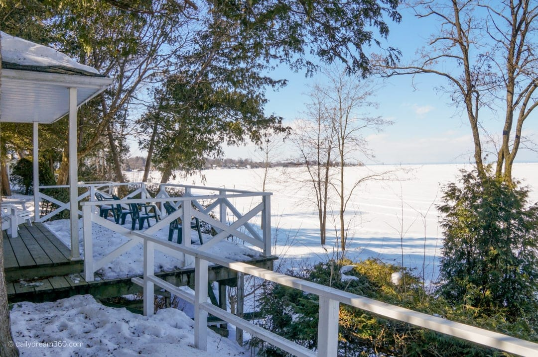 Winter cottage rentals at The Briars Resort and Spa