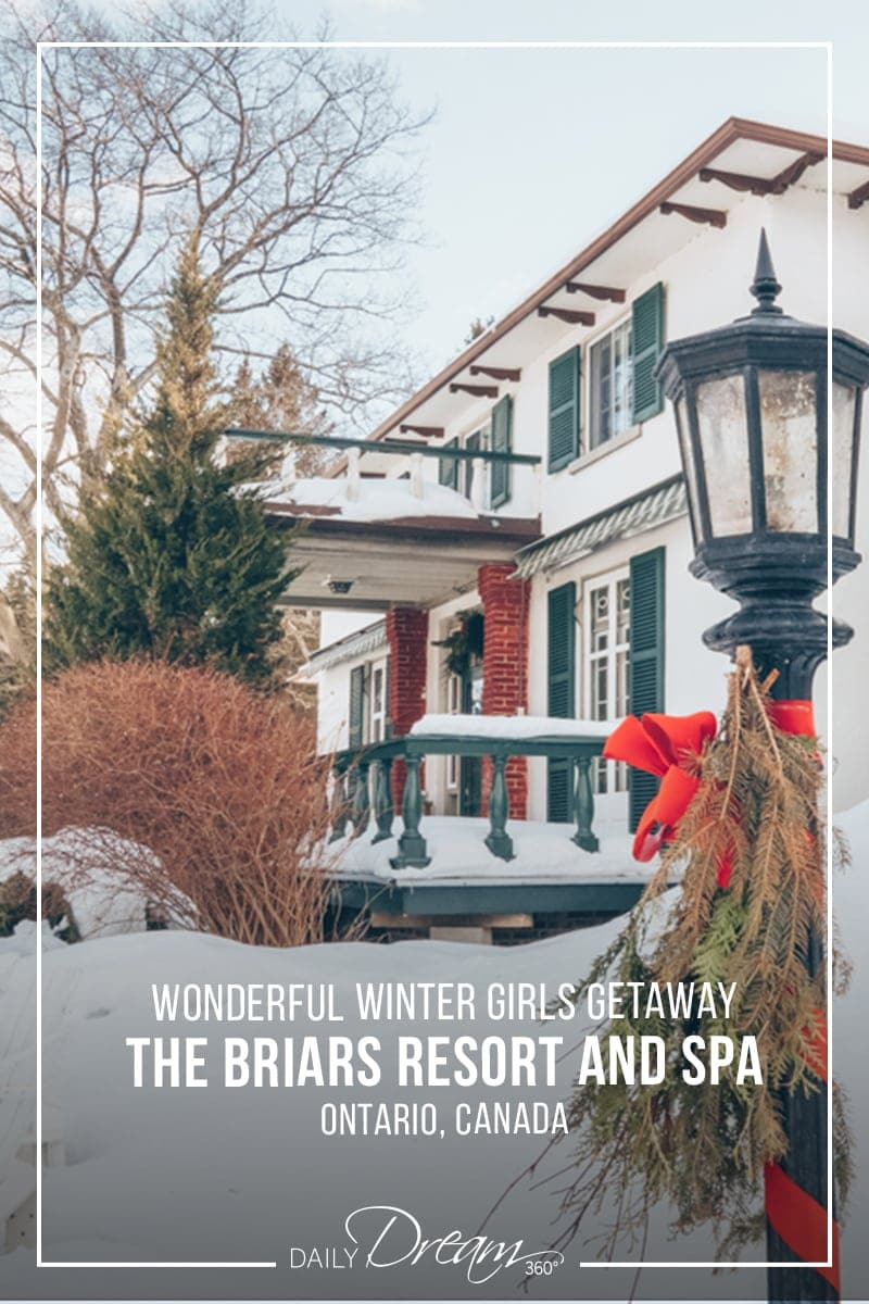 Briars Resort Ontario in Winter