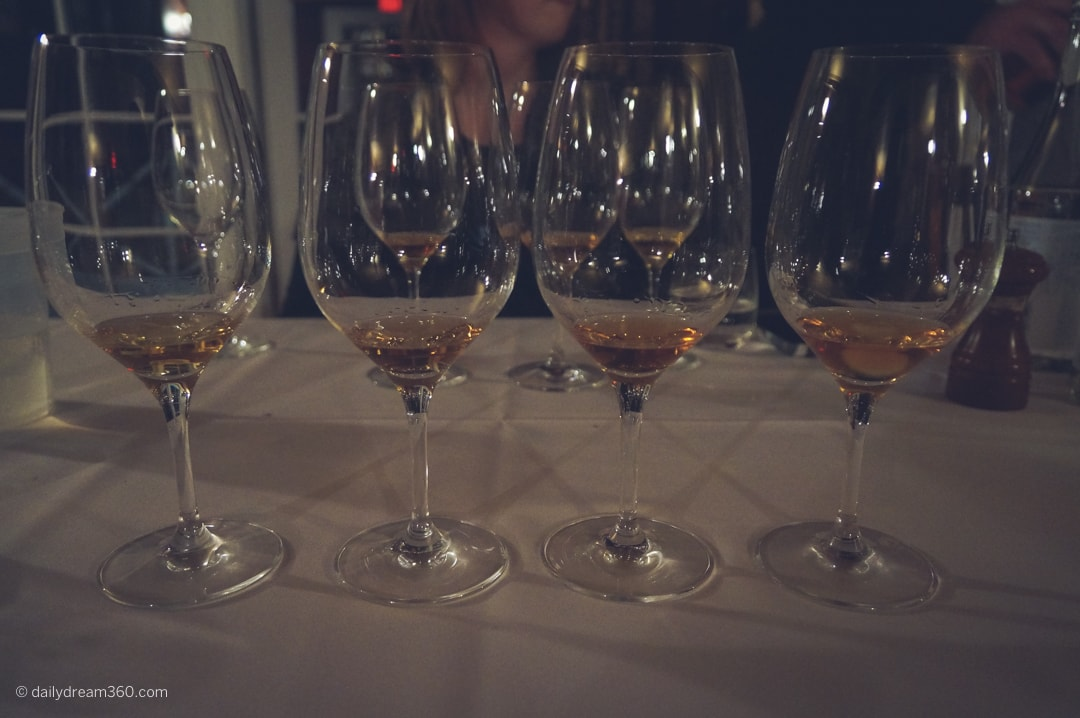 Whisky tasting at Viamede Resort