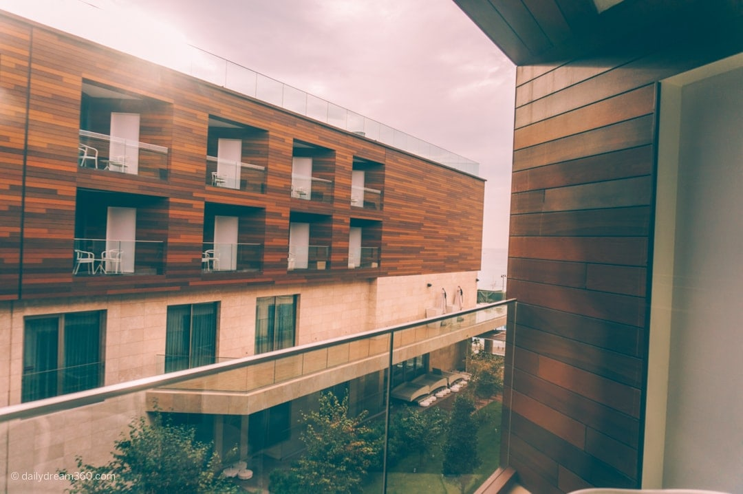 View from balcony of room at Crowne Plaza Istanbul Florya