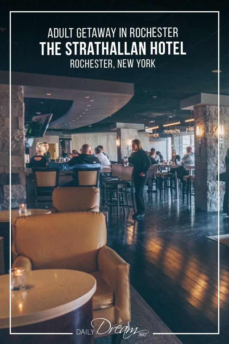 Lobby Bar at Strathallen Rochester Hotel
