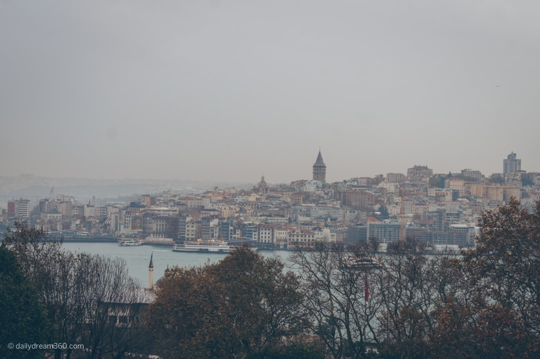 Views of Istanbul from Topkapi Palace
