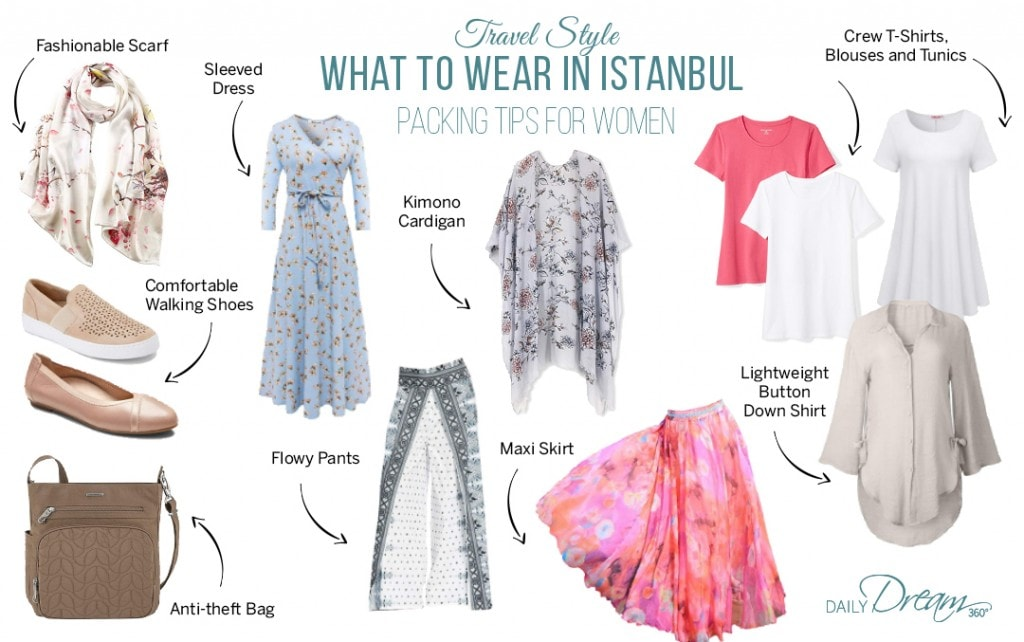 What to Wear in Istanbul Packing List