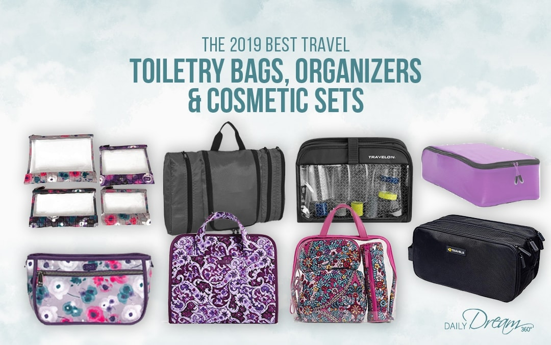 The 2019 Best Travel Toiletry Bags, Toiletry Organizers and Cosmetic Sets