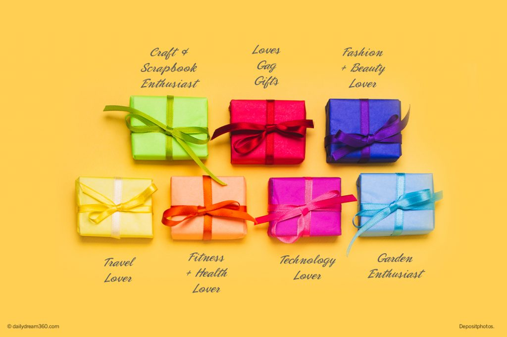 Ultimate List of the Best Gifts for Her based on her interests