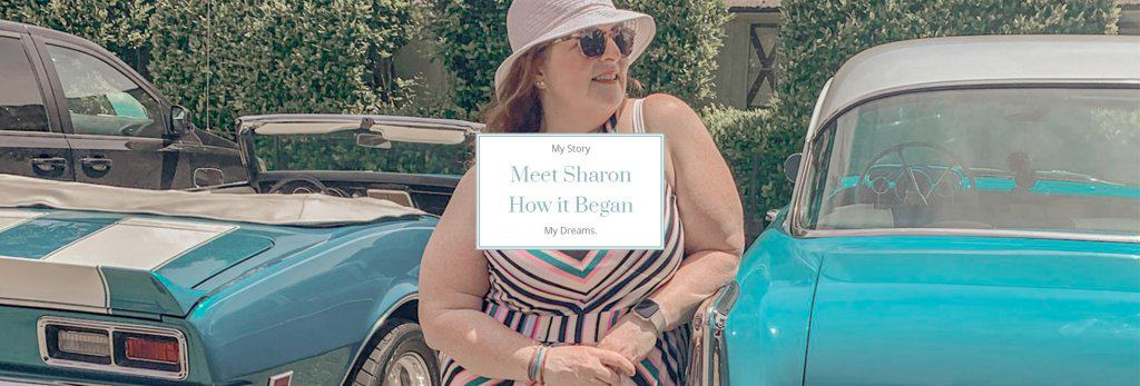 About Sharon Mendelaoui content creator life over 50