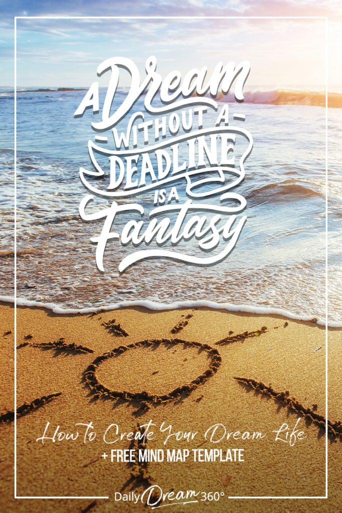 sun scraped in sand next to water with a dream without a deadline is a fantasy text