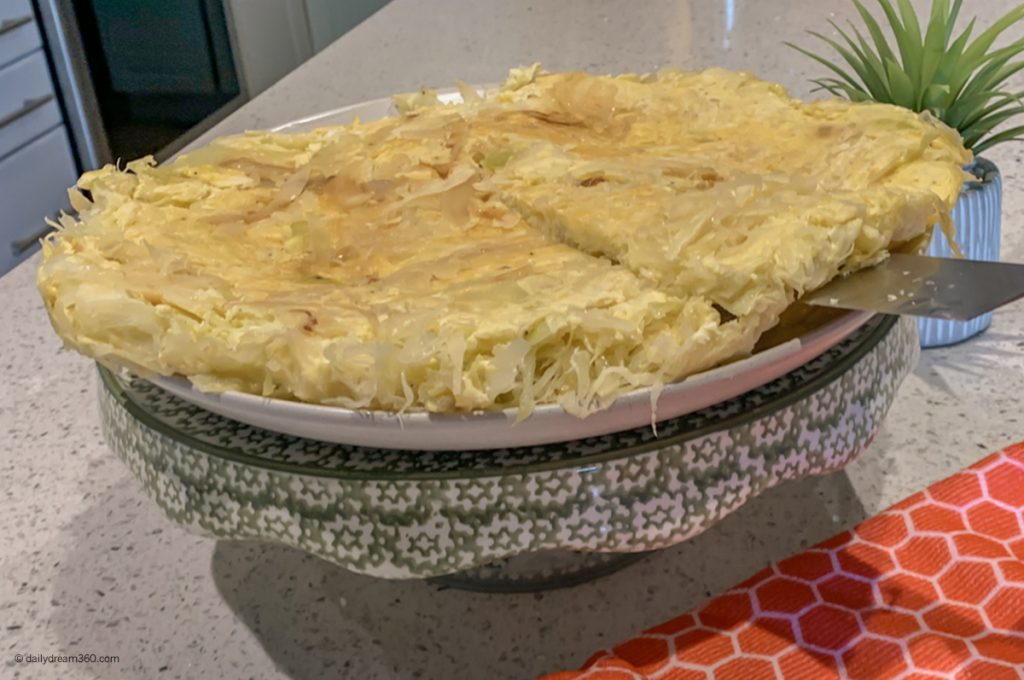 Can You Mix Cabbage and Eggs? Try this Cabbage Frittata Recipe