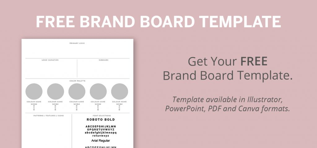 Download your free brand board template