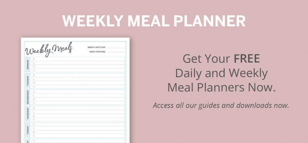 Free Weekly Meal Planner Download