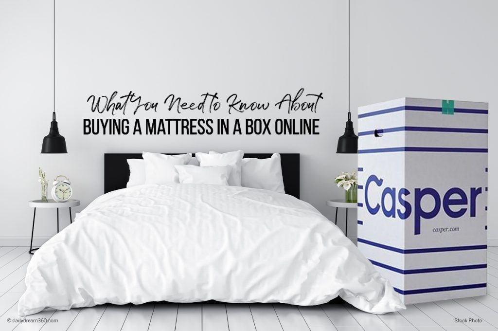 What You Need to Know About Buying a Mattress in a Box Online