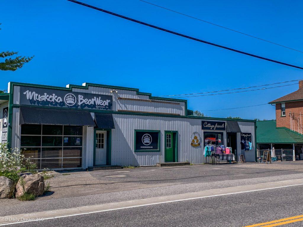 Shops in Bala Ontario