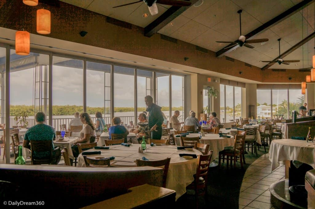 Inside the Bayfront Bistro Fort Myers Beach