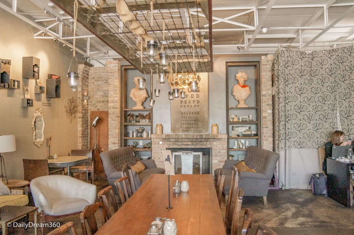 Locals Living Room Brewed Cafe in Fort Worth Texas