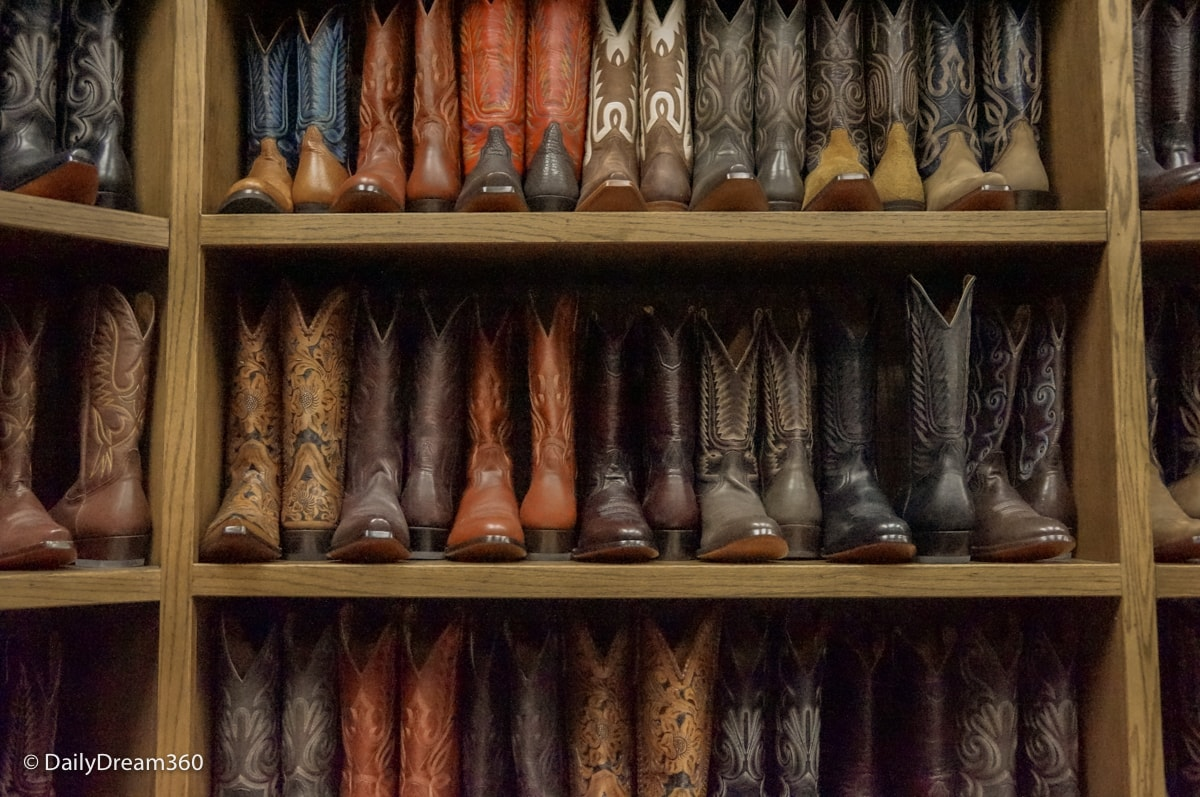 Shopping for Cowboy Boots in Stockyards District Fort Worth