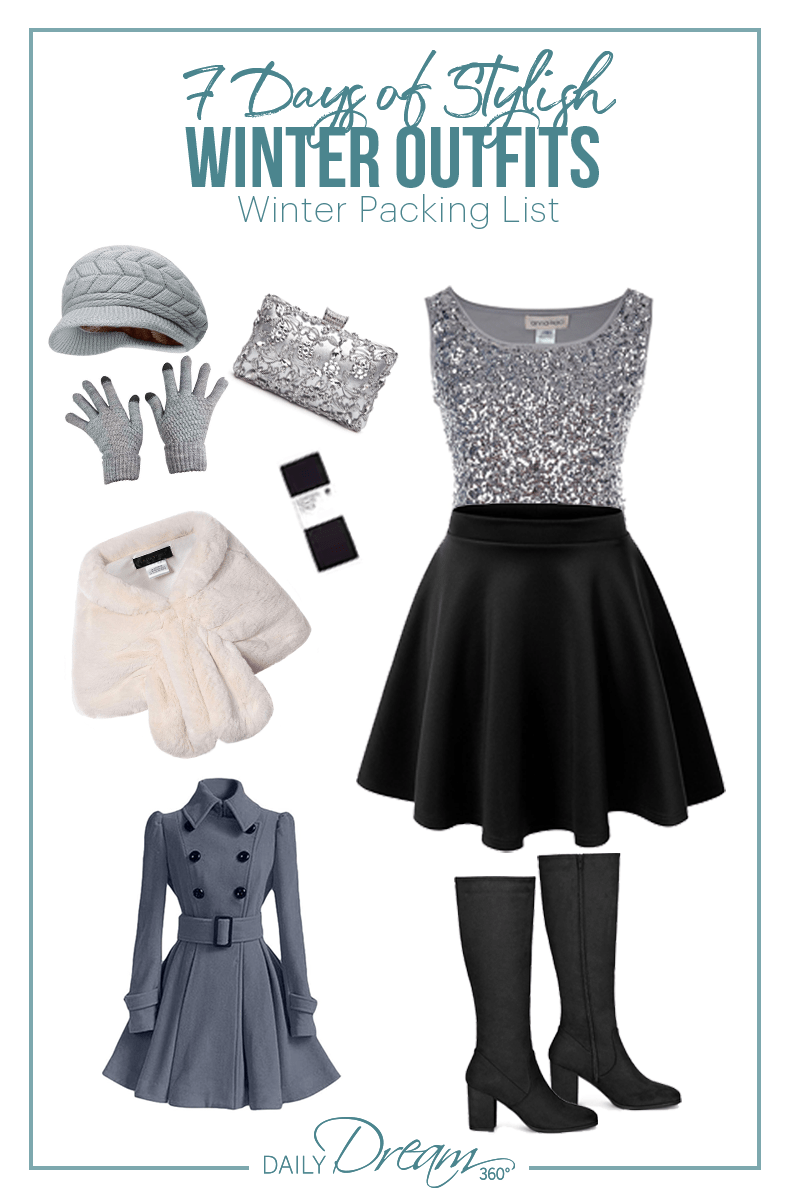 Winter evening Outfit