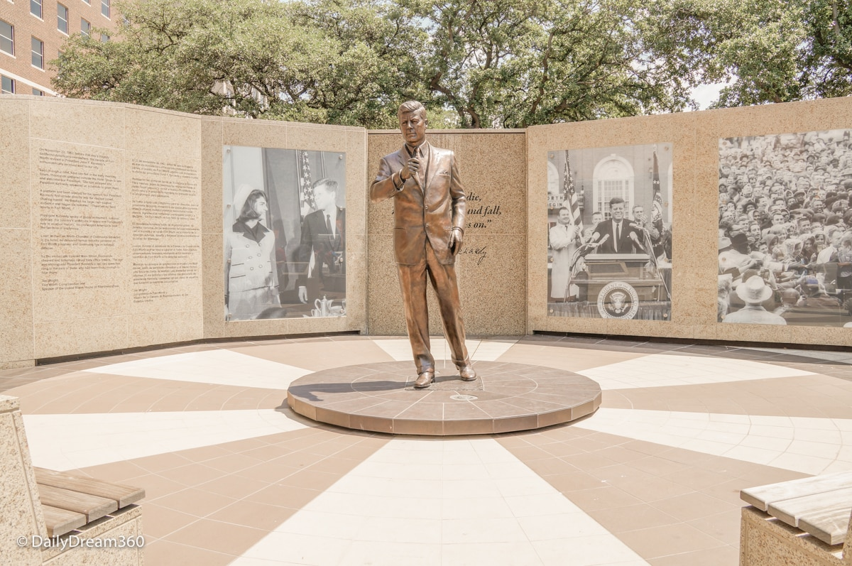 JFK Tribute in Fort Worth
