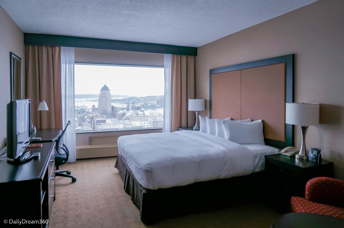 The Dream Room with a View at Hilton Quebec City