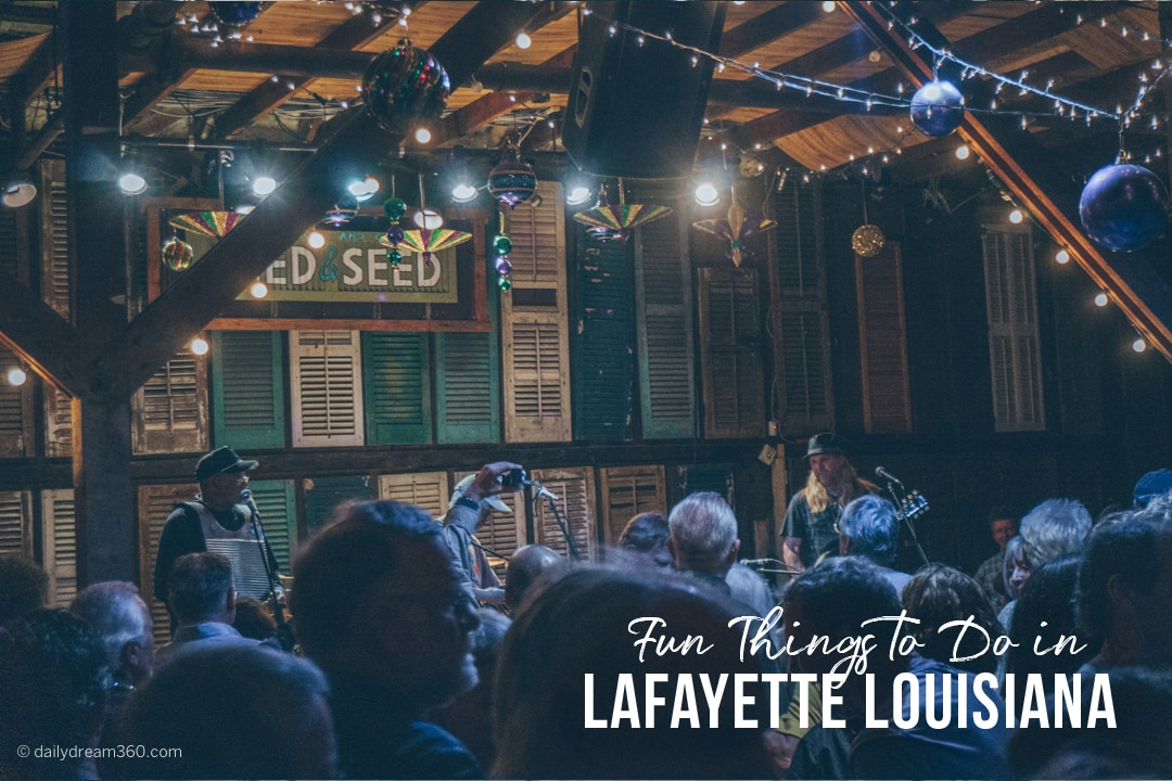 Fun things to do in Lafayette Louisiana