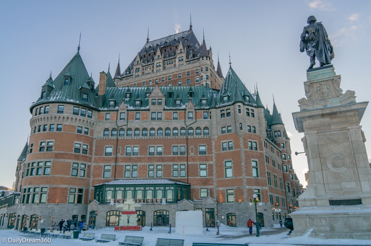 Quebec City Winter Vacation at Chateau Frontenac