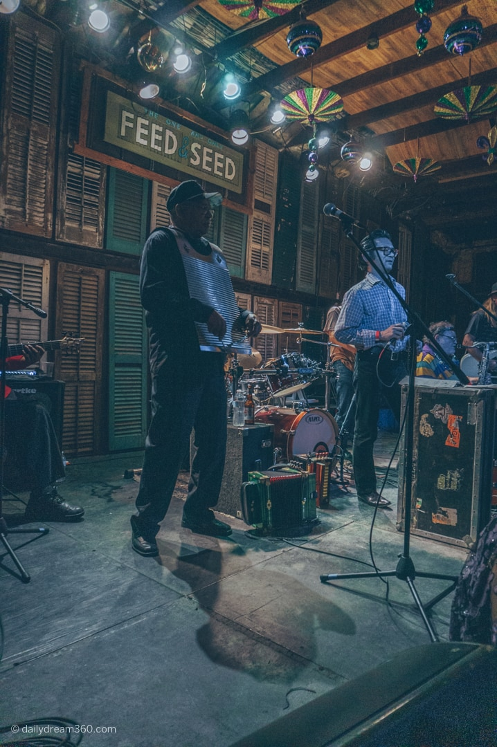 Musicians perform at Feed and Seed Lafayette LA