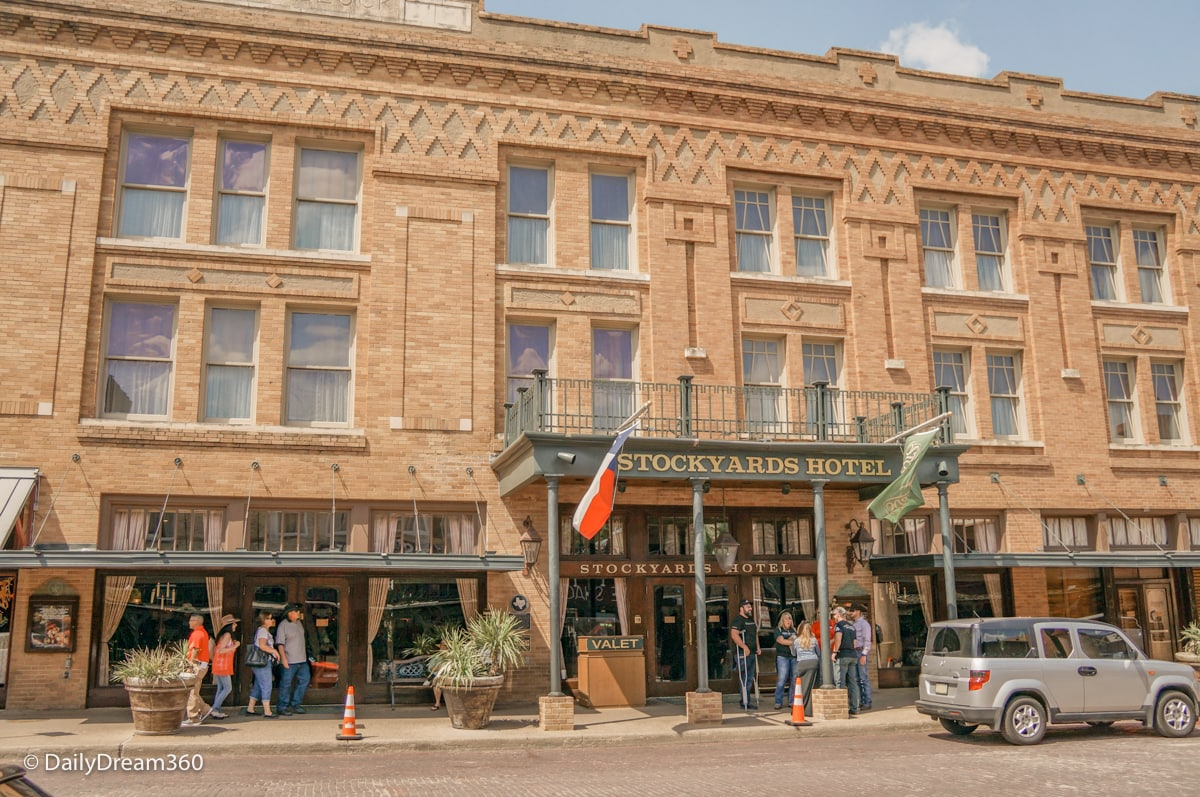 Stockyards Hotel Front