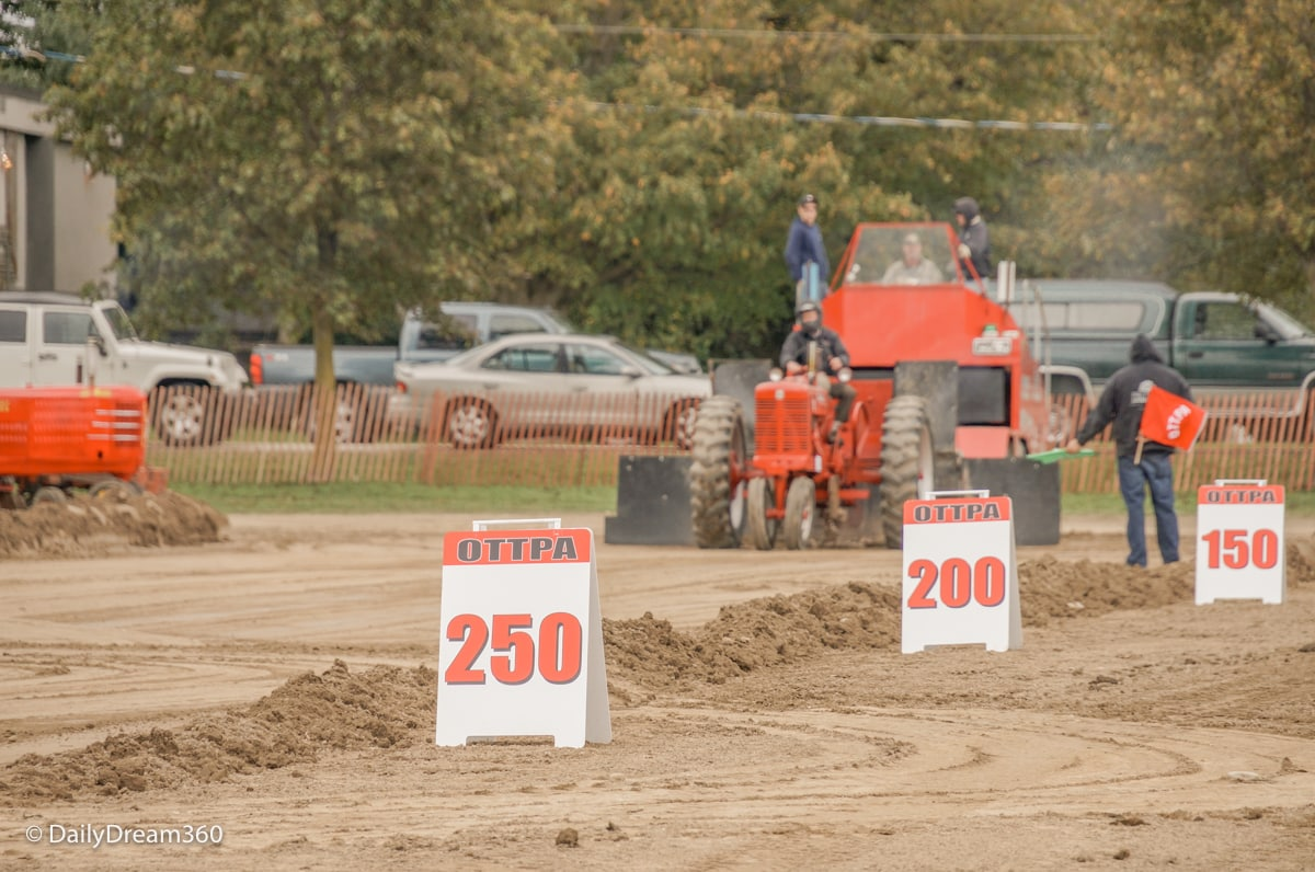 Tractor pull competition at Grand Valley fair