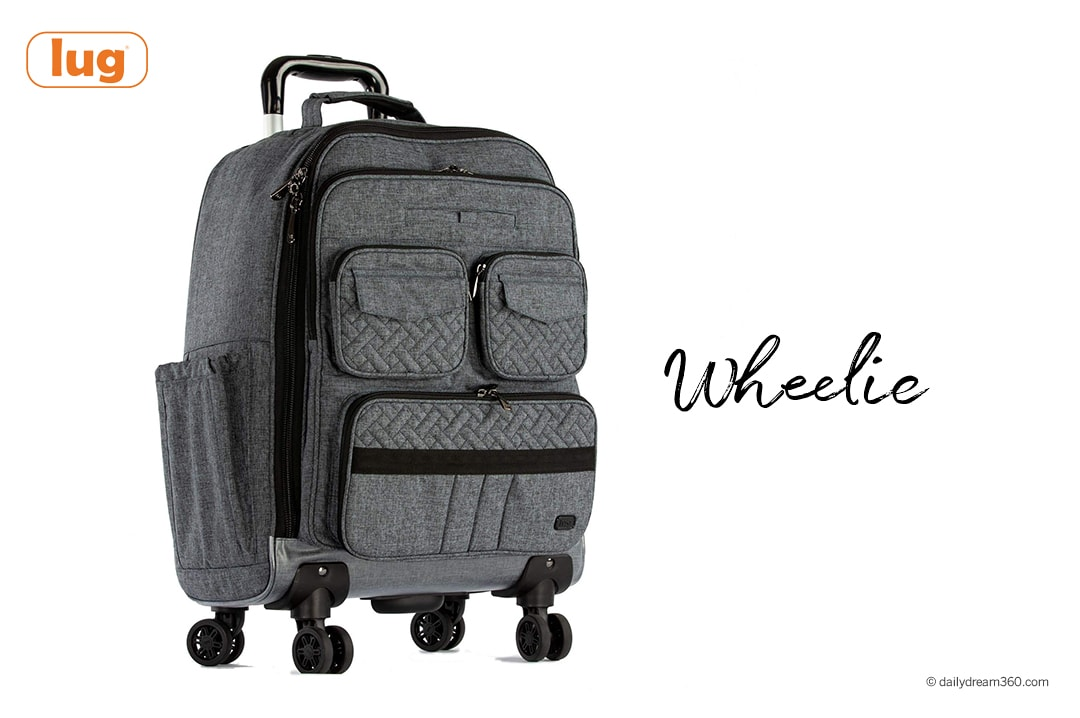 Lug Puddle Jumper Wheelie Review