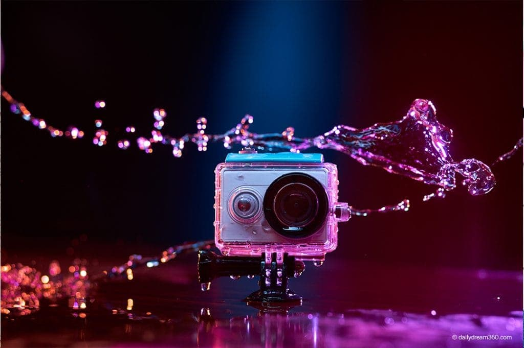 best waterproof action cameras for the beach