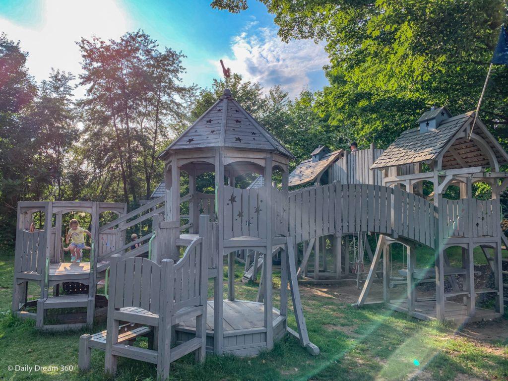 children's playground at Muskoka Beer Spa